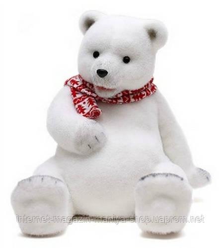 Декоративная фигура Мишка в шарфике 37см