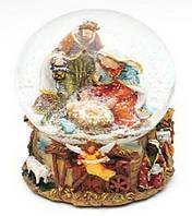 Декоративный водяной шар 16см Рождественский Вертеп