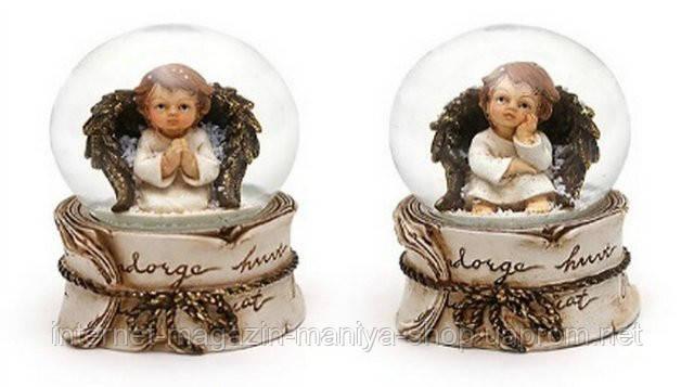Декоративный водяной шар 7см Ангел в асс 2