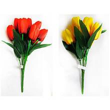 Цветы искусственные Букет тюльпанов 7 цветков 28-273 10-126 (113)
