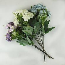 Цветы искусственные Букет Гортензий 10-132 (113)