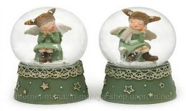 Декоративный водяной шар 5см Девочка-ангел в асс 2