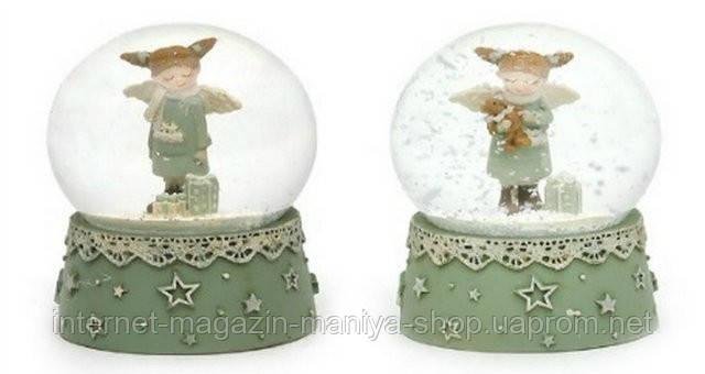 Декоративный водяной шар 7см Девочка-ангел в асс 2