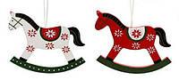 Набор елочных украшений в форме лошадки (2) в асс 2