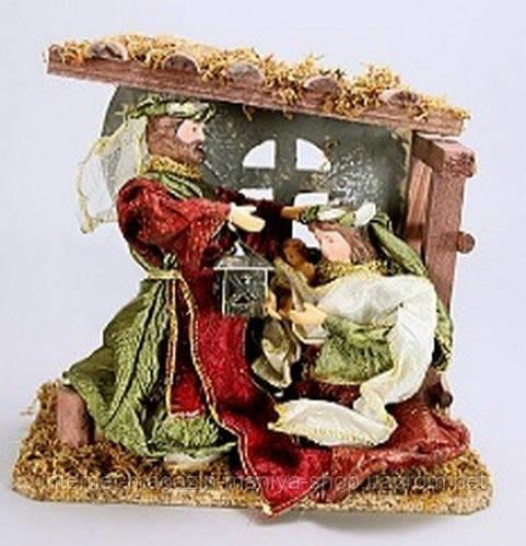 Рождественский вертеп, 23см