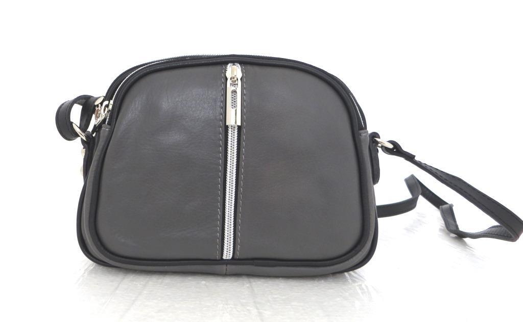 Маленькая женская сумочка. 100% кожа Италия Черны