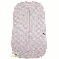 Пеленка-кокон для новорожденной девочки - Миндаль, розовая (20-539), НЯНЯ Розовый