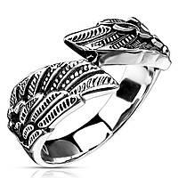 """Мужское кольцо """"Крылья"""" от Spikes, р. 17.5, 18, 19, 20.5"""