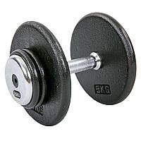 Гантель 15 кг профессиональная стальная RECORD (1шт) TA-7231-15, фото 1