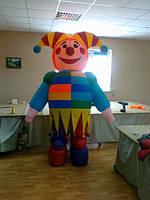 Надувной костюм (пневмокостюм, пневморобот) Клоун