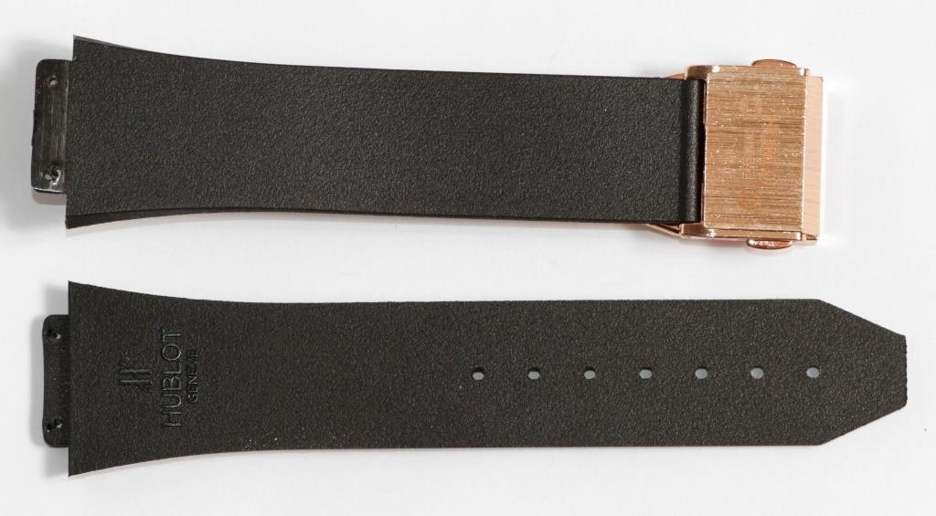 Ремешок для часов Hublot силиконовый Черного цвета - Женский