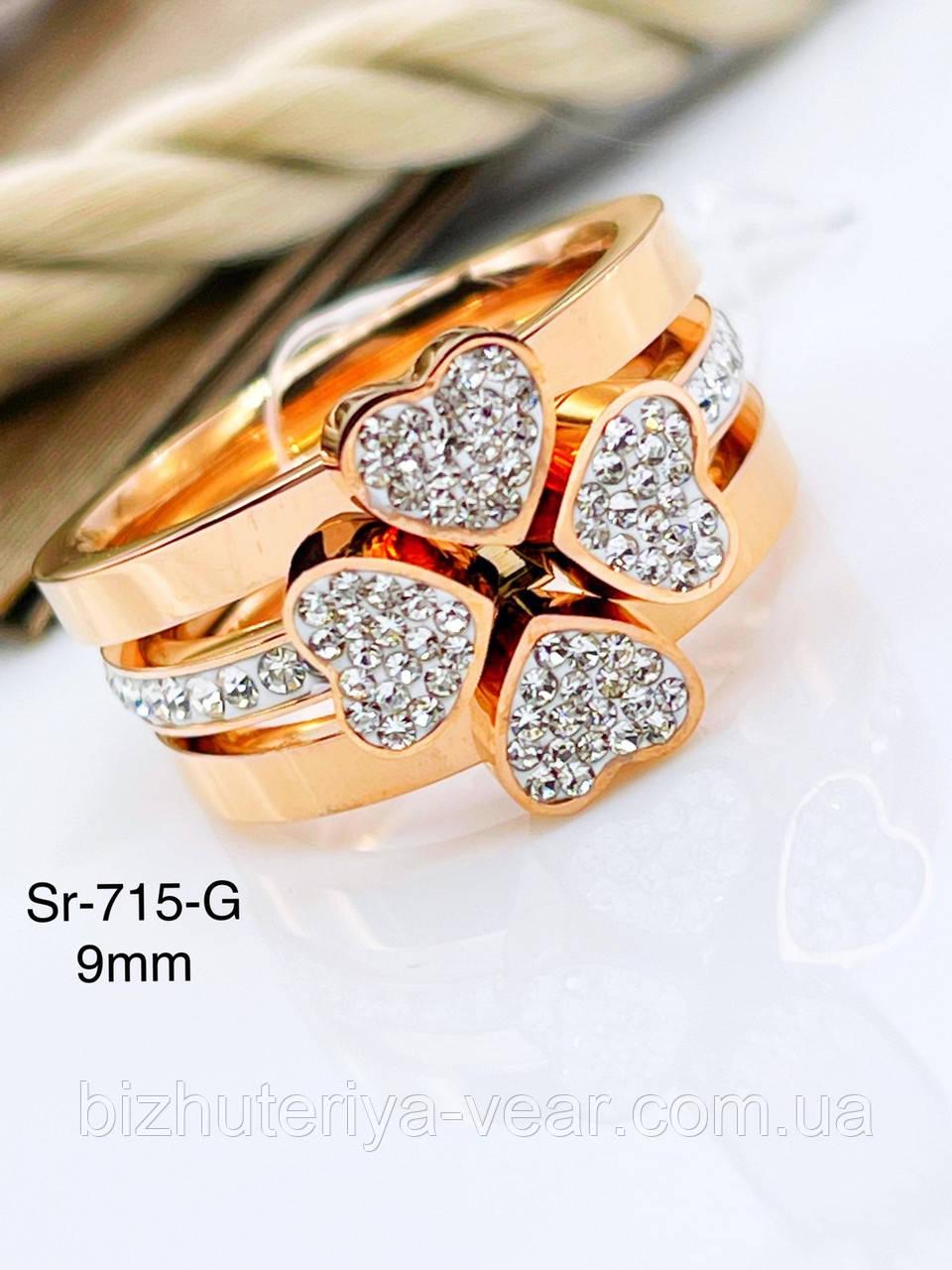 КОЛЬЦО STAINLEES STEEL(ПРЕМИУМ) Sr-715(6,7,8,9)