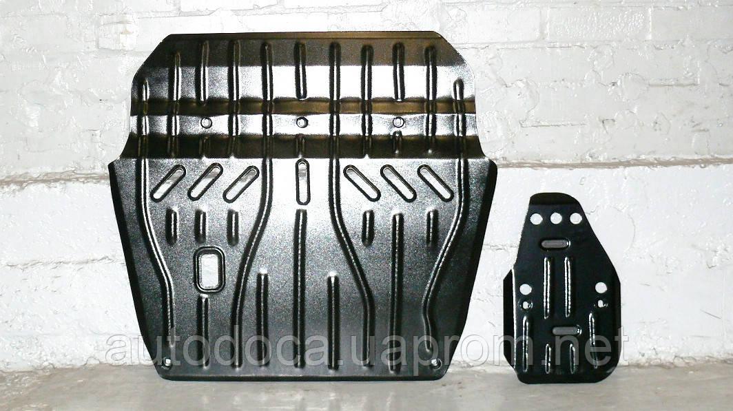 Защита картера двигателя и акпп, диф-ла Toyota Highlander 2013-