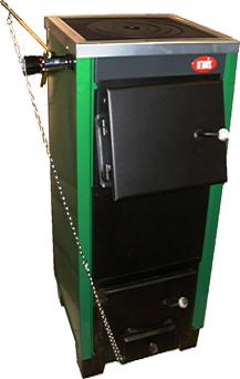 КОТВ-20П. Твердотопливный котел для дома с плитой мощностью 20кВт
