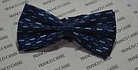 Модельная синяя Бабочка-галстук ZERMON