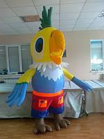 Надувной костюм (пневмокостюм, пневморобот) Попугай
