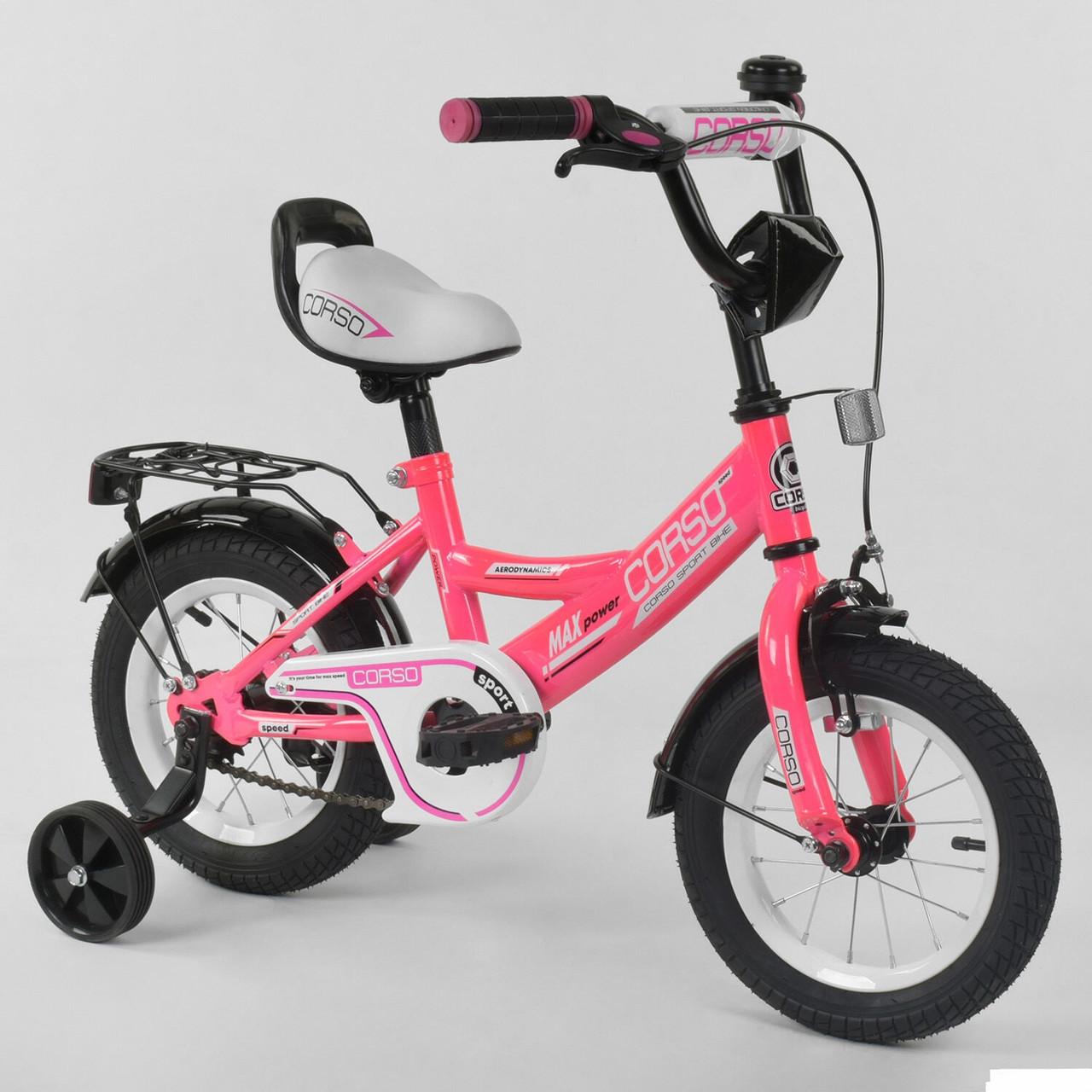 """Велосипед 12"""" дюймов 2-х колёсный """"CORSO"""" CL-12 D 0373"""