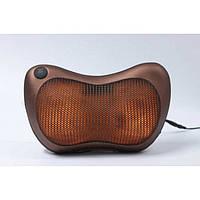 Массажер, массажная подушка для дома и машины Massage pillow CHM-8028 (4 ролика)