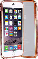Бампер SHENGO SG03 Metal Bumper iPhone 6 Rose Gold #I/S