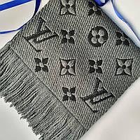 Шарф женский Louis Vuitton LUX+++ (реплика) шерсть+шелк, фото 1