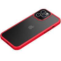 "TPU+PC чехол Metal Buttons для Apple iPhone 12 Pro Max (6.7""), фото 1"