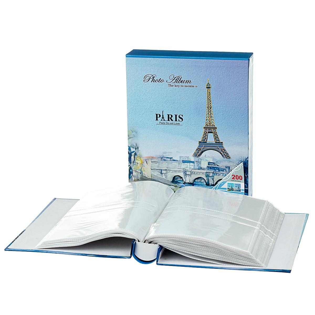 """Фотоальбом""""Любовь в Париже"""" 10*15, 200 фото (8423-016)"""