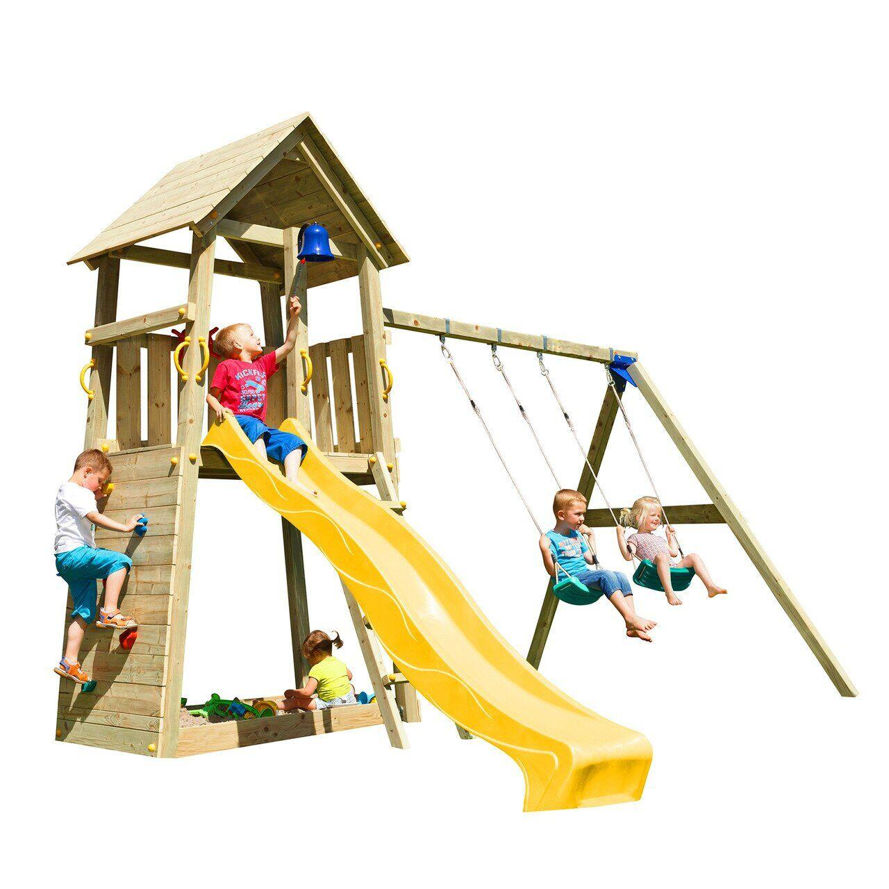 Дитячі майданчики для садочка (дитячого садка) BELVEDERE + SWING