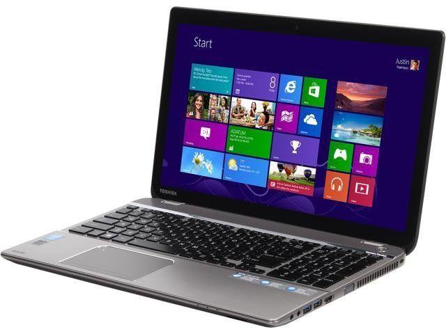 "Toshiba Satellite P55T-A5116 / 15.6"" (1920x1080) TN Touch Screen / Intel Core i5-4200U (2 (4) ядра по 1.6 -"