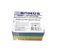 Бумага для заметок Romus 400 листов 85 * 85 микс клей