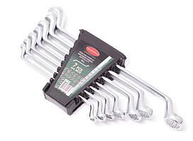 Набор ключей накидных отогнутых на 75грд. 7 предметов (8х9, 10х11, 12х13, 14х15, 16х17, 18х19, 22х24)