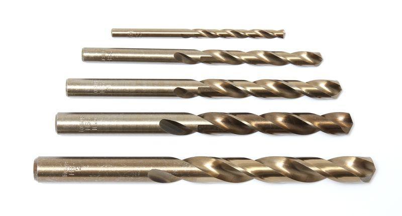Сверло по металлу 12.5мм HSS (5шт), в пластиковом футляре Forsage F-DSP125