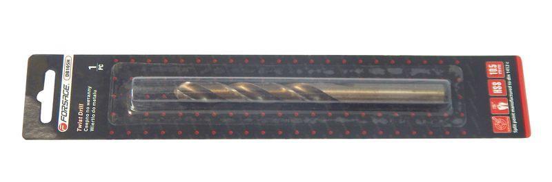 Сверло по металлу 12мм HSS+Co, в блистере Forsage F-DB120H