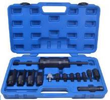 Набор для снятия дизельных форсунок Bosch, Delphi, Denso, Siemens (размеры головок: 25, 27, 29, 30мм,)14