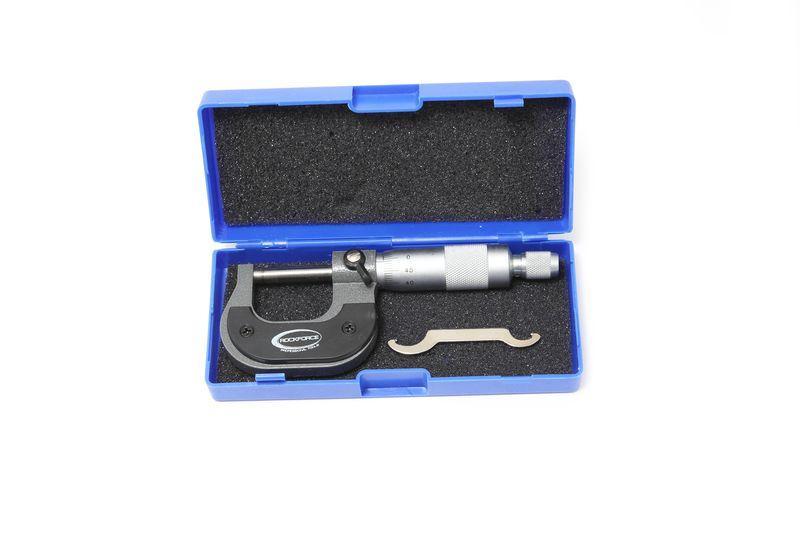 Микрометр (25-50мм, 0.01мм), в футляре ROCKFORCE RF-5096P9050