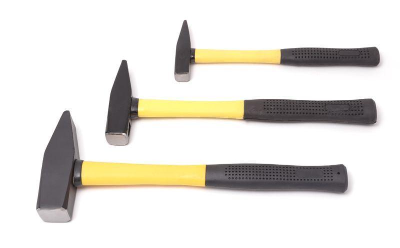 Молоток с пластиковой ручкой 100гр Partner PA-801-100