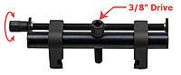 Съемник поликлиновых шкивов (рабочий дипазон:40-165мм) ROCKFORCE RF-909G4