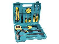 Набор слесарного инструмента 12 предметов(молоток, отвертки, шарнирно-губцевый инструмент) KINGTUL KT12