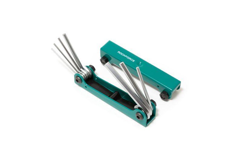 Набор ключей 6-гранных складной, 7 предметов(1.5, 2, 2.5, 3-6мм) ROCKFORCE RF-5076F