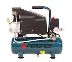 Компрессор 9л поршневой с прямым приводом (0,75 кВт,ресивер 9л,8 бар,220В) Forsage F-BM9L