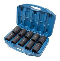 "Набор головок ударных глубоких 10 предметов, 1"", 6гр (22,24,27,30,32,33,34,36,38,41) в кейсе Forsage F-8101MPB"