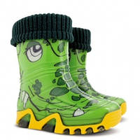 """Резиновые сапоги Demar """"Крокодилы"""" с носочком детские, фото 1"""
