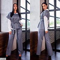 Костюм с брюками женский (Батал), фото 1