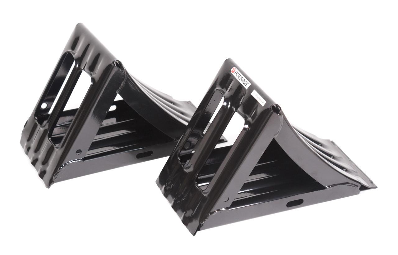 Башмак противооткатный металлический для грузовых а/м с ручкой (длина - 320мм, ширина - 155мм, высота -