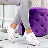 Ультра модные белые розовые спортивные кеды мокасины слипоны на липучке, фото 8