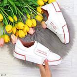 Ультра модные белые розовые спортивные кеды мокасины слипоны на липучке, фото 9