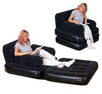 Надувное кресло-трансформер 2 в 1 Bestway 67277, фото 1
