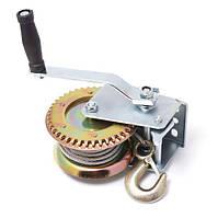 Лебедка ручная ,барабанного типа (стальной трос), 540кг(4,5мм*10м) Partner PA-6729