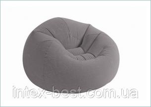 Надувное кресло-мешок Intex 68579 (107x104x27 см.), фото 2