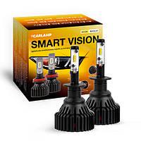 Светодиодные автолампы H1 CARLAMP Smart Vision Led для авто 8000 Lm 4000 K (SM1Y), фото 1