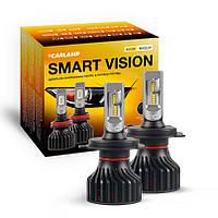 Светодиодные автолампы H4 CARLAMP Smart Vision Led для авто 8000 Lm 4000 K (SM4Y), фото 1